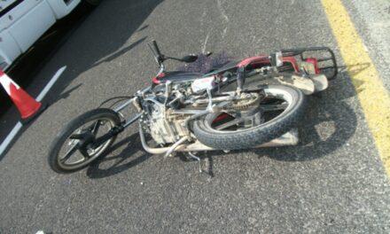 Motociclista perdió la vida  tras derrapar