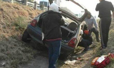 Accidente vehicular dejo como saldo tres personas lesionadas