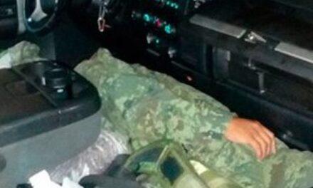 Soldado asesinó a quema ropa a su teniente