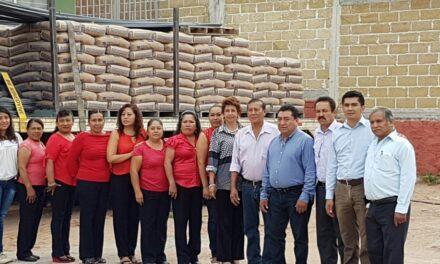 Castro Ramales entregó apoyos a los habitantes de Chiautla