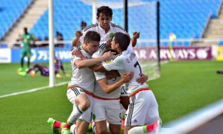 México avanza a los cuartos de final del Mundial Sub-20