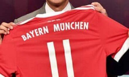 James Rodríguez es presentado en el Bayern Munich