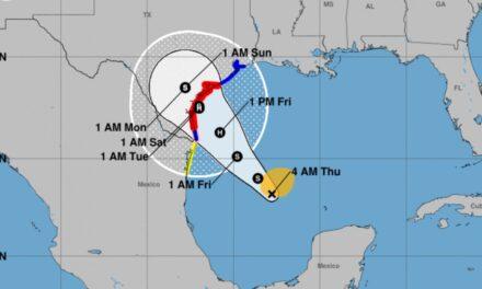 Harvey podría tocar tierras texanas como Huracán: CNH
