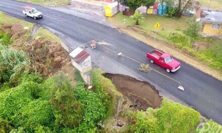 Sin pérdidas humanas, Franklin causó daños en Puebla