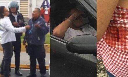 Apuñalan a conductor y policías estatales dejan ir a agresores
