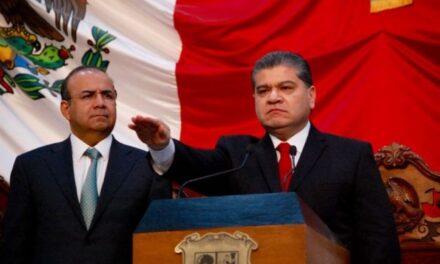 Riquelme arremete contra sus adversarios al tomar protesta como gobernador de Coahuila