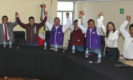 """En Puebla, se hace oficial la coalición """"Juntos Haremos Historia"""""""