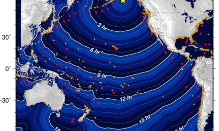 Se desactiva alerta de Tsunami en Alaska