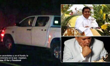 Dos sacerdotes y un profesor fueron muertos a balazos en Guerrero