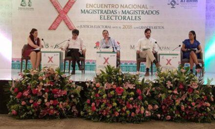 Tribunales Electorales piden a candidatos y gobierno actuar con civilidad