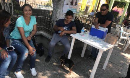 Se llevó a cabo la Semana de Vacunación Antirrábica en Chiautla