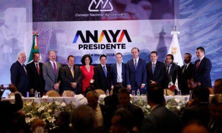 Ricardo Anaya asegura que dará mayor impulso al campo