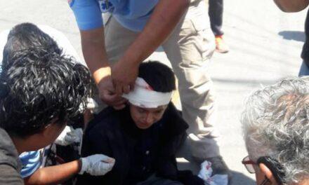 Ciclista atropellado  resultó herido