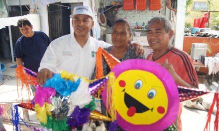 Intensa campaña Lorenzo Suárez en colonias de Izúcar