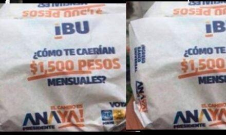 Suspende INE propaganda del PAN en tortillas