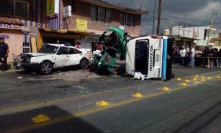 Fatídico accidente dejó 5 integrantes de una familia muertos, entre ellos un bebé