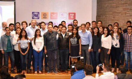 PAN Puebla exhibe violencia de José Juan Espinosa, Alejandro Armenta y Fernando Manzanilla en contra de jóvenes voluntarios del PAN