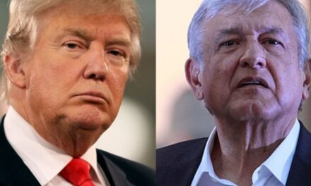 Donald Trump sostiene llamada con  Andrés Manuel López Obrador
