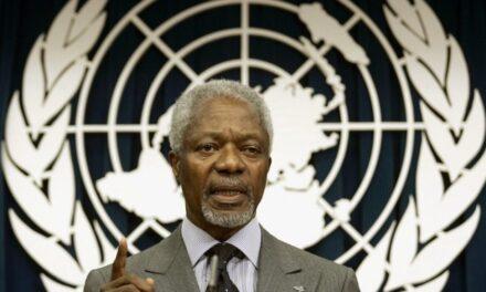 Muere Kofi Annan el ex secretario general de la ONU