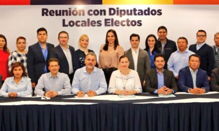 Exhorta Martha Erika Alonso a diputados locales a ser oposición responsable en el Congreso del Estado