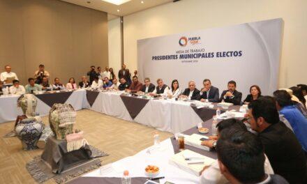 Tony Gali y alcaldes electos de Juntos Haremos Historia conforman agenda de trabajo