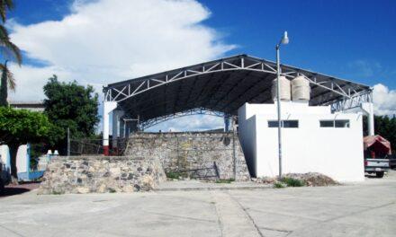 Cancha de usos múltiples para colonia Cerro del Tepeyac