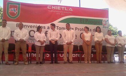 Así quedaron las comisiones en  el ayuntamiento de Chietla