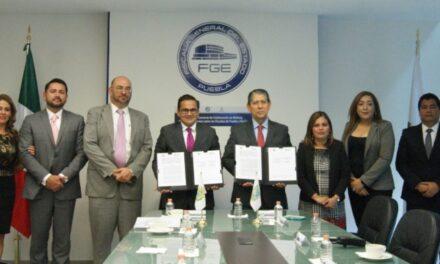 Las Fiscalías de Puebla y Veracruz firmaron convenio de colaboración en materia de Trata de Personas