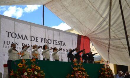 Seremos un gobierno de equidad e igualdad: Juan Domínguez Espinosa