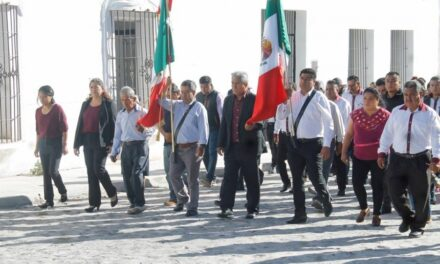 Conmemoraron con desfile el 108 aniversario  de la Revolución Mexicana en Huaquechula