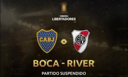 Se suspende la final de Copa Libertadores