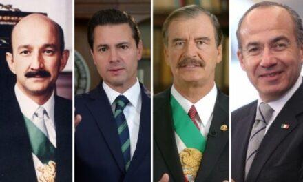 Publican decreto que elimina la pensión de los ex presidentes