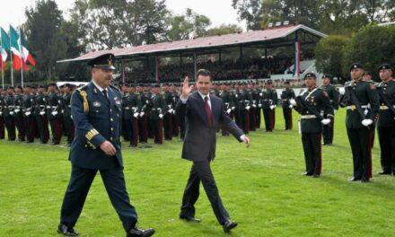 EPN se despidió del Estado Mayor