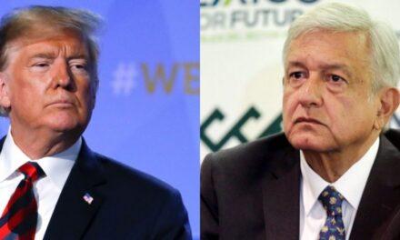 AMLO habla por teléfono con Trump sobre migración