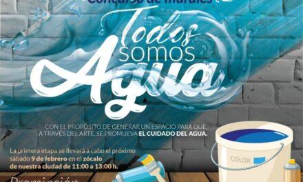 """El H. Ayuntamiento de Izúcar 2018-2021 da a conocer la convocatoria """"Todos somos agua"""""""