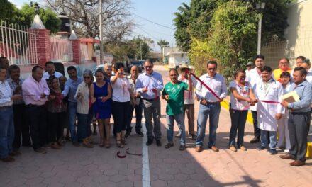 Inaugura el Presidente Municipal de Izúcar obras en San Nicolás Tolentino y San Mateo Matzaco