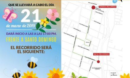 Invita Ayuntamiento de Izúcar a disfrutar del Desfile de Primavera