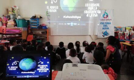 Sosapamin fomenta la cultura del agua en escuelas de Izúcar