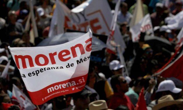 También en Morena hace aire
