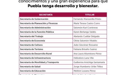 Todo listo para que Miguel Barbosa asuma la gubernatura de Puebla