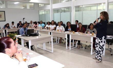 Imparte IEE capacitación sobre violencia política contra las mujeres a partido compromiso por Puebla
