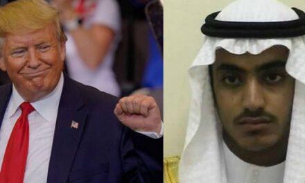 Trump confirma la muerte del hijo de Osama bin Laden