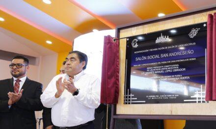 Anuncia Barbosa Huerta construcción de Planta Tratadora de Agua en Ciudad Serdán