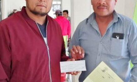 Ayuntamiento de Tepeojuma entrega participaciones a autoridades auxiliares