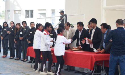 Telesecundarias de Huaquechula participaron en concurso académico