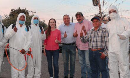 En Atlixco continúan las jornadas de limpieza y sanitización