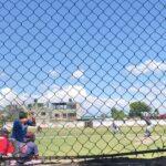 Duelo de poder a poder en la liga de béisbol Regional