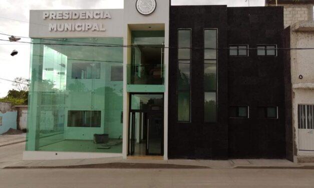 Presidencia de Tilapa lista  para reabrir sus puertas
