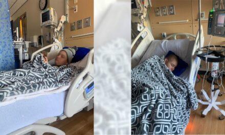 Tras larga espera, padres se reúnen con su hijo enfermo de cáncer en EU