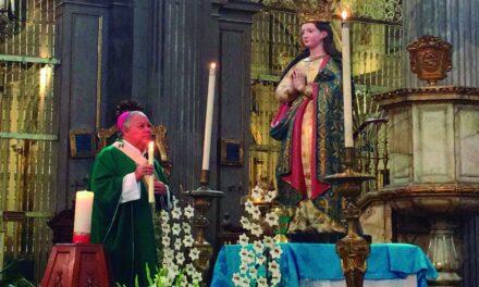 Arzobispo envía mensaje de fe a familiares de migrantes